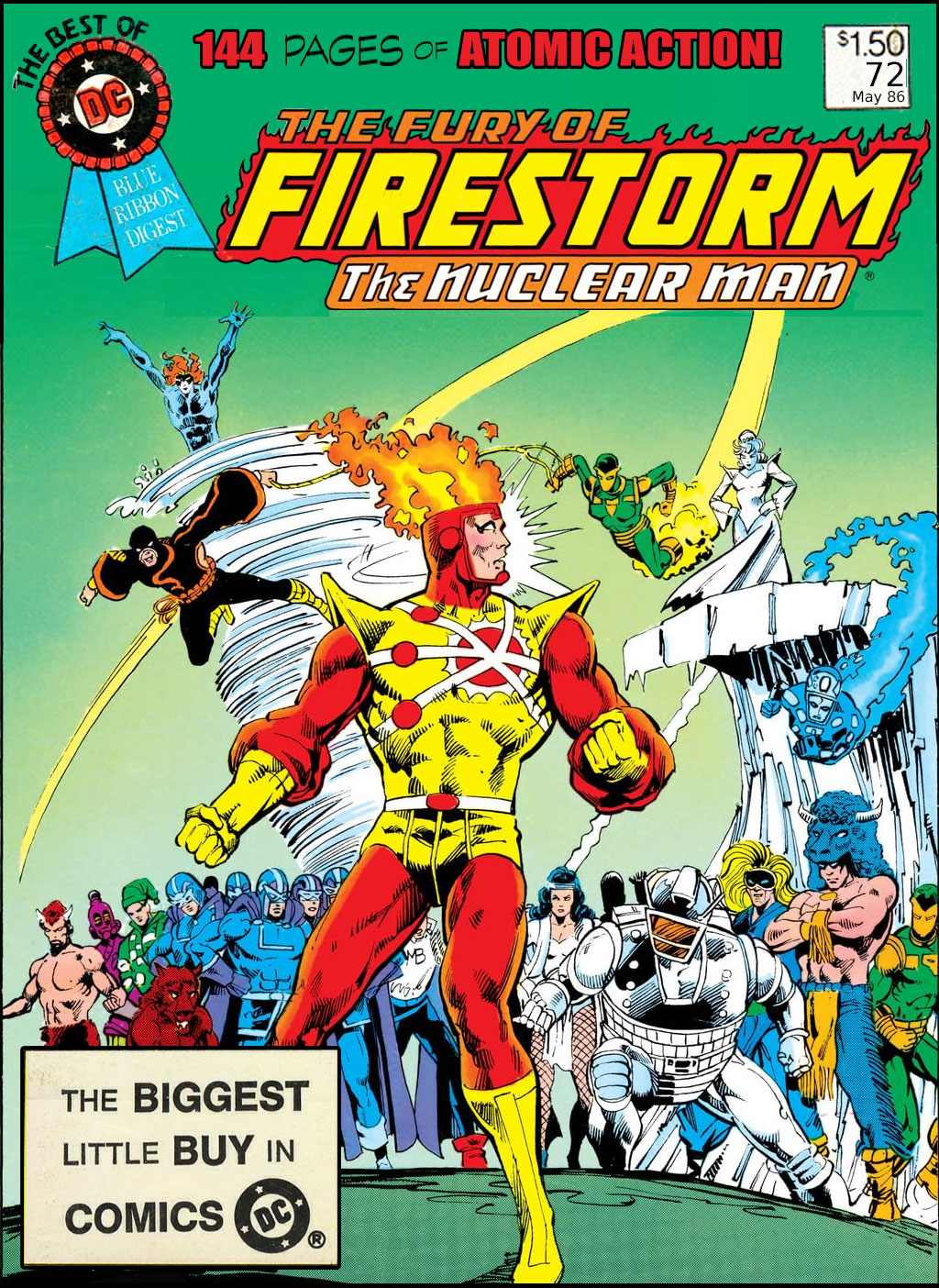 Best of DC Digest #72 Firestorm - from the Fire and Water Podcast