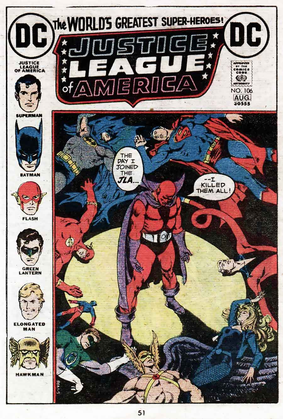 Best of DC Blue Ribbon Digest #31: Justice League of America
