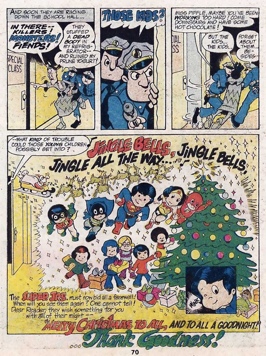 Best of DC Blue Ribbon Digest #58: Super Jrs. Holiday Special