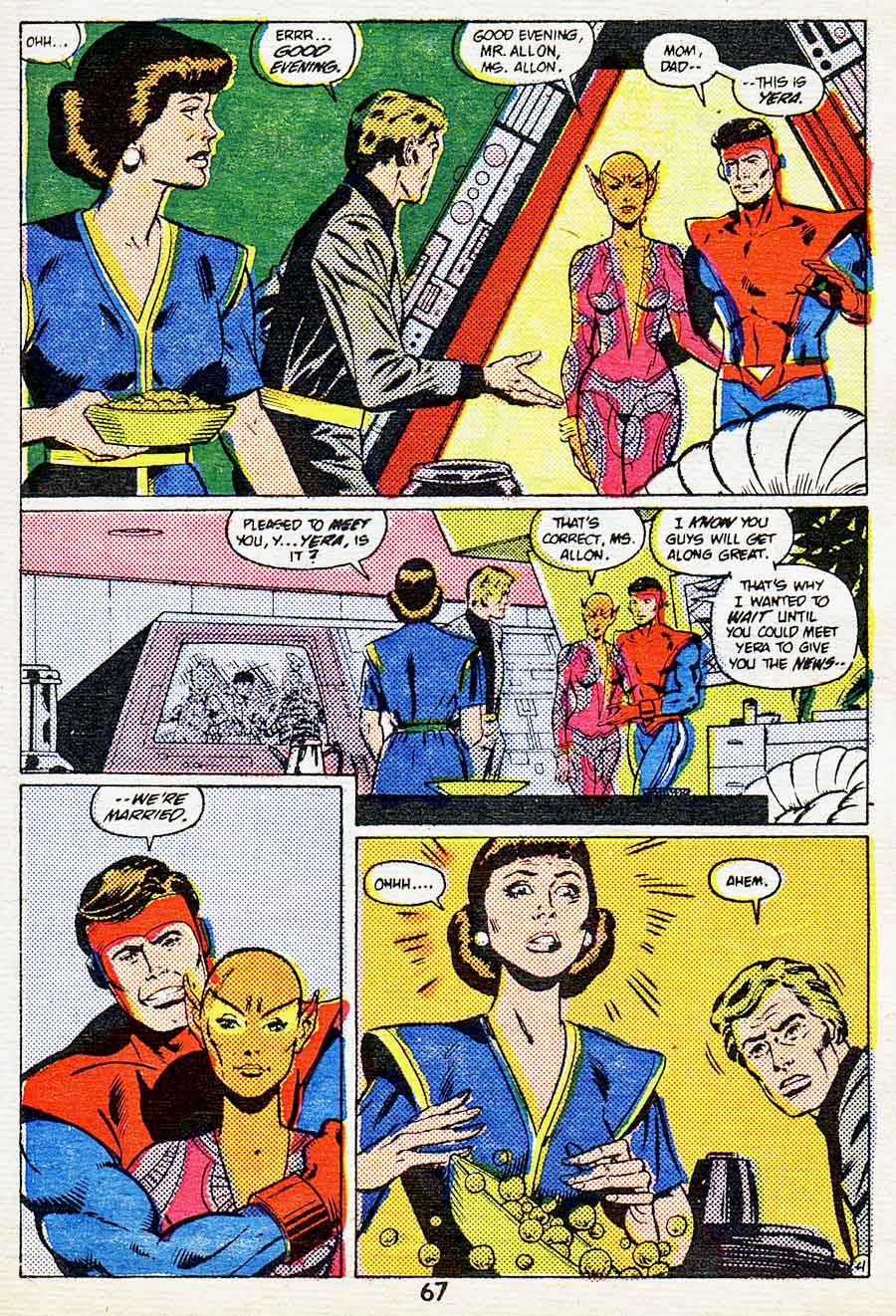 "Best of DC Blue Ribbon Digest #61: Year's Best Comic Stories 1984 - Legion of Super-Heroes: ""Guess What's Coming to Dinner?"" by Paul Levitz, Keith Giffen, George Tuska and Larry Mahlstedt"