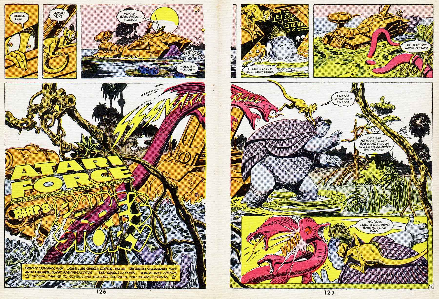 "Best of DC Blue Ribbon Digest #61: Year's Best Comic Stories 1984 - Atari Force: ""Babe's Story"" by Gerry Conway, Andrew Helfer, Jose Luis Garcia-Lopez and Ricardo Villagran"