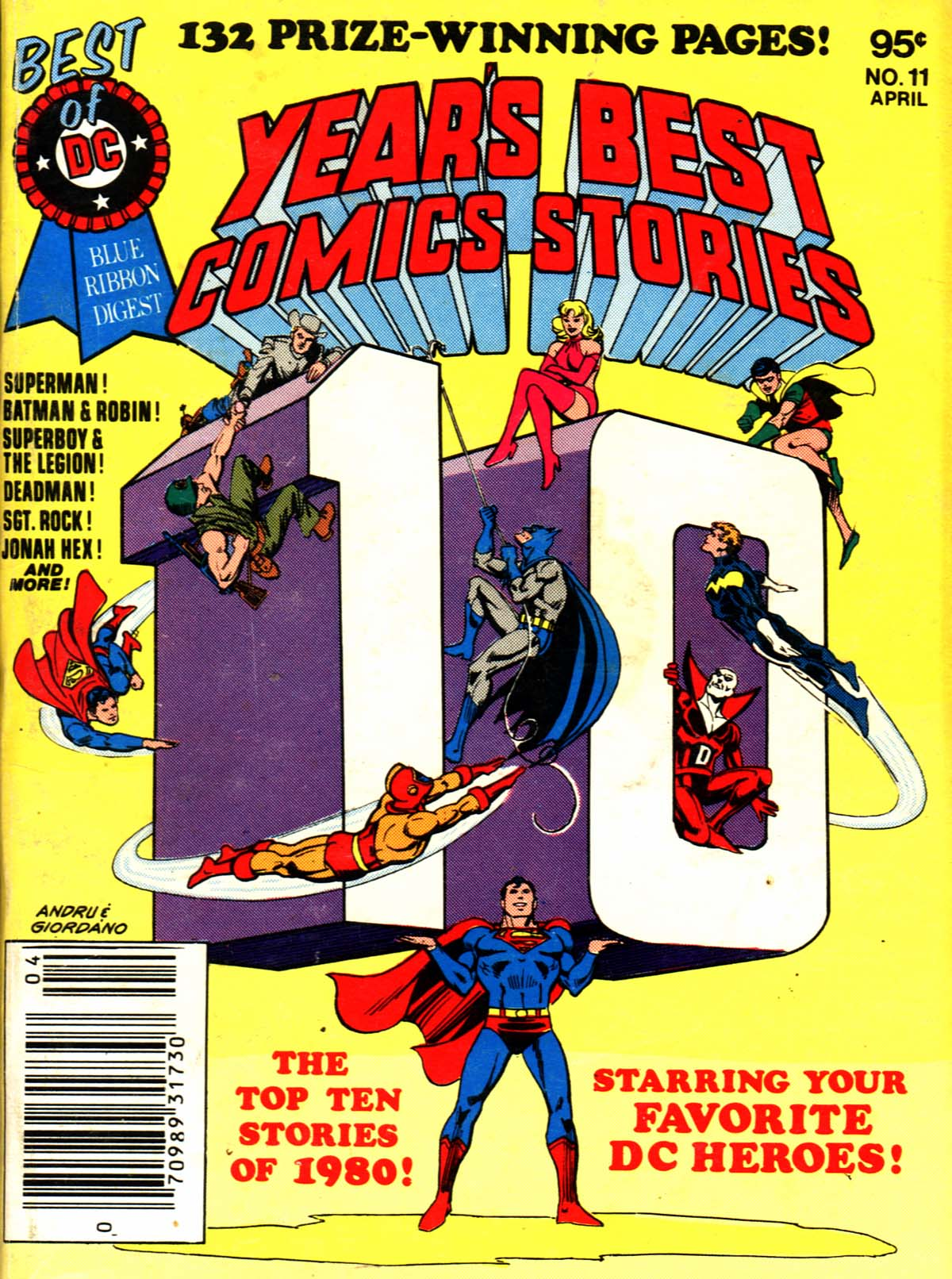 Best of DC Blue Ribbon Digest #11: Year's Best Comic Stories 1980