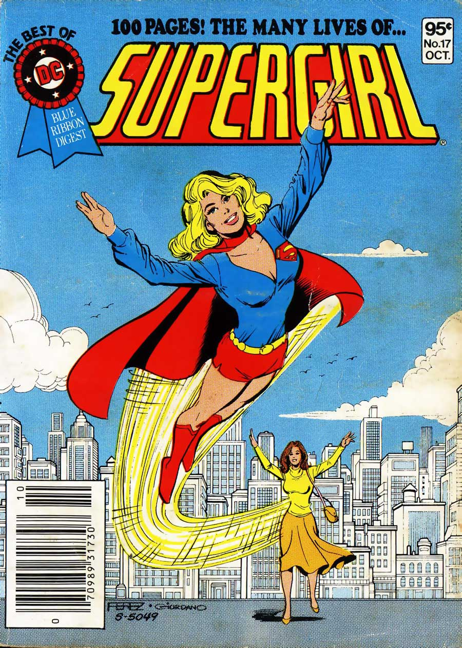 Best of DC #17 -- The Many Lives of... Supergirl! Cover by George Perez & Dick Giordano