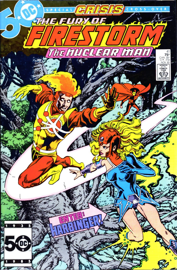 Fury of Firestorm #41 by Gerry Conway, Rafael Kayanan, Ian Akin & Brian Garvey; cover by Rafael Kayanan & Dick Giordano