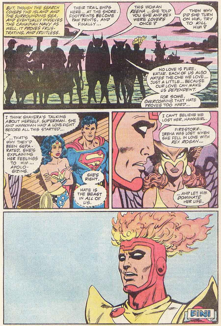Justice League of America #223 by Gerry Conway, Chuck Patton and Romeo Tanghal