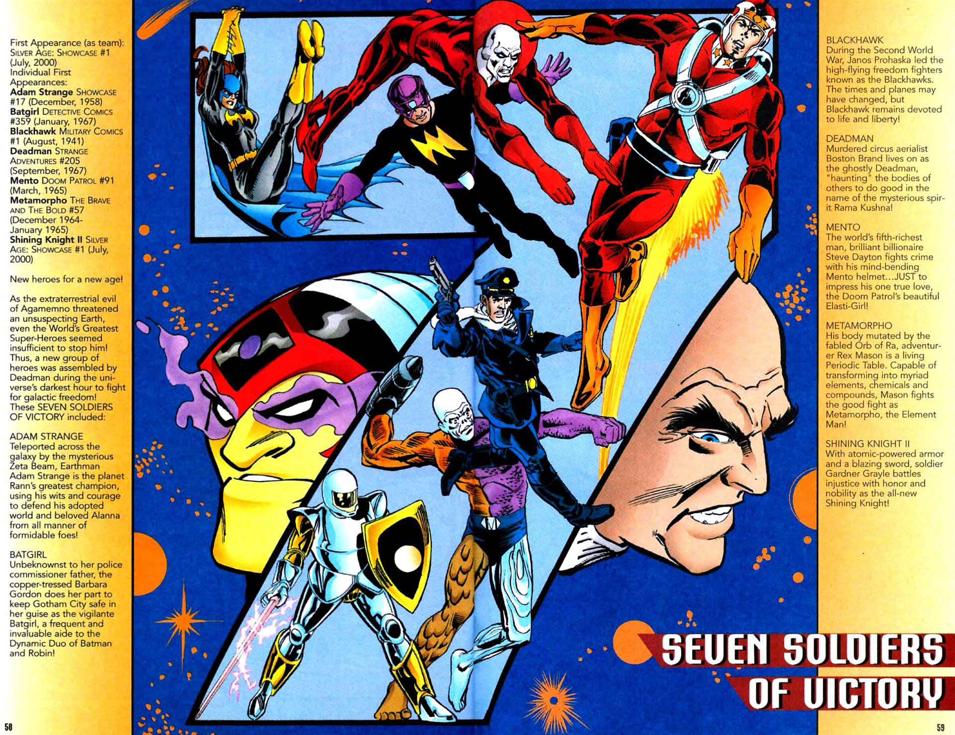 Seven Soldiers of Victory by Scott Beatty & Dick Giordano