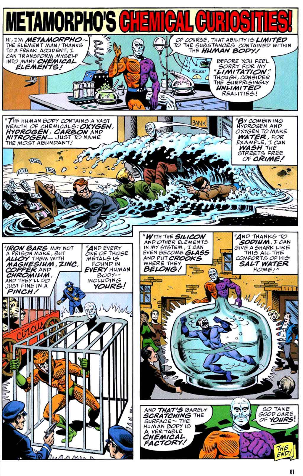 Metamorpho's Chemical Curiosities! by Brian Augstyn, Ramon Fradon & Karl Kesel