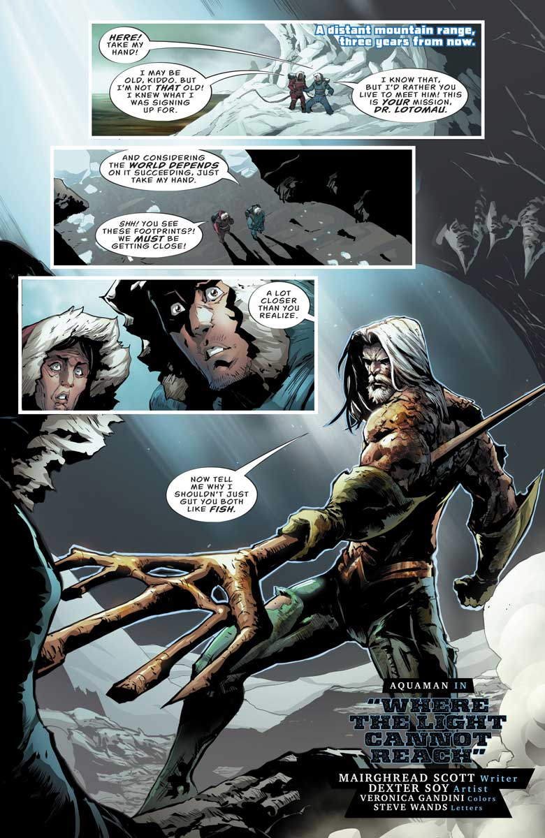 """DC's Nuclear Winter Special - Aquaman in """"Where the Light Cannot Reach"""""""