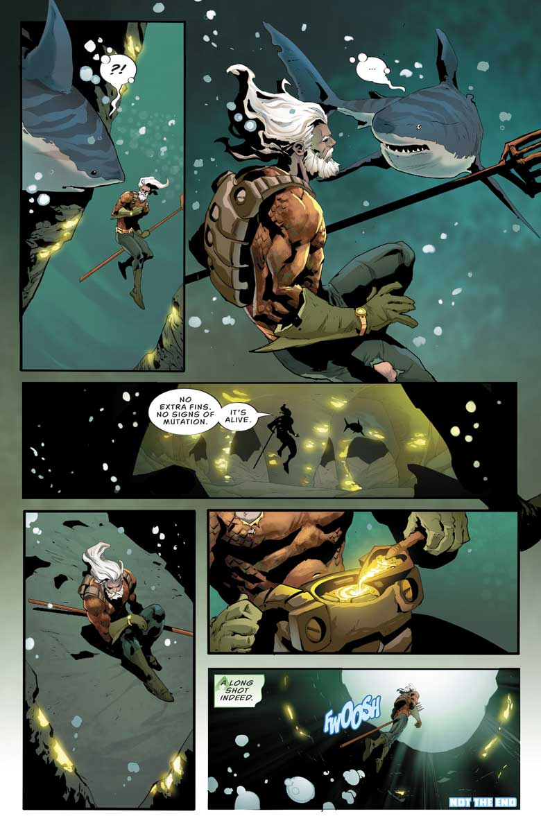 "DC's Nuclear Winter Special - Aquaman in ""Where the Light Cannot Reach"""
