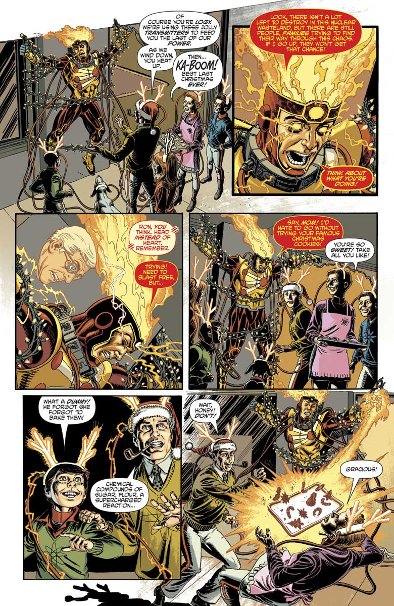 """DC's Nuclear Winter Special - Firestorm in """"Last Christmas"""" by Paul Dini & Jerry Ordway"""