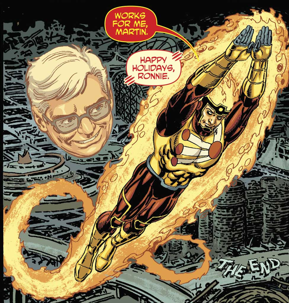"DC's Nuclear Winter Special - Firestorm in ""Last Christmas"" by Paul Dini & Jerry Ordway"
