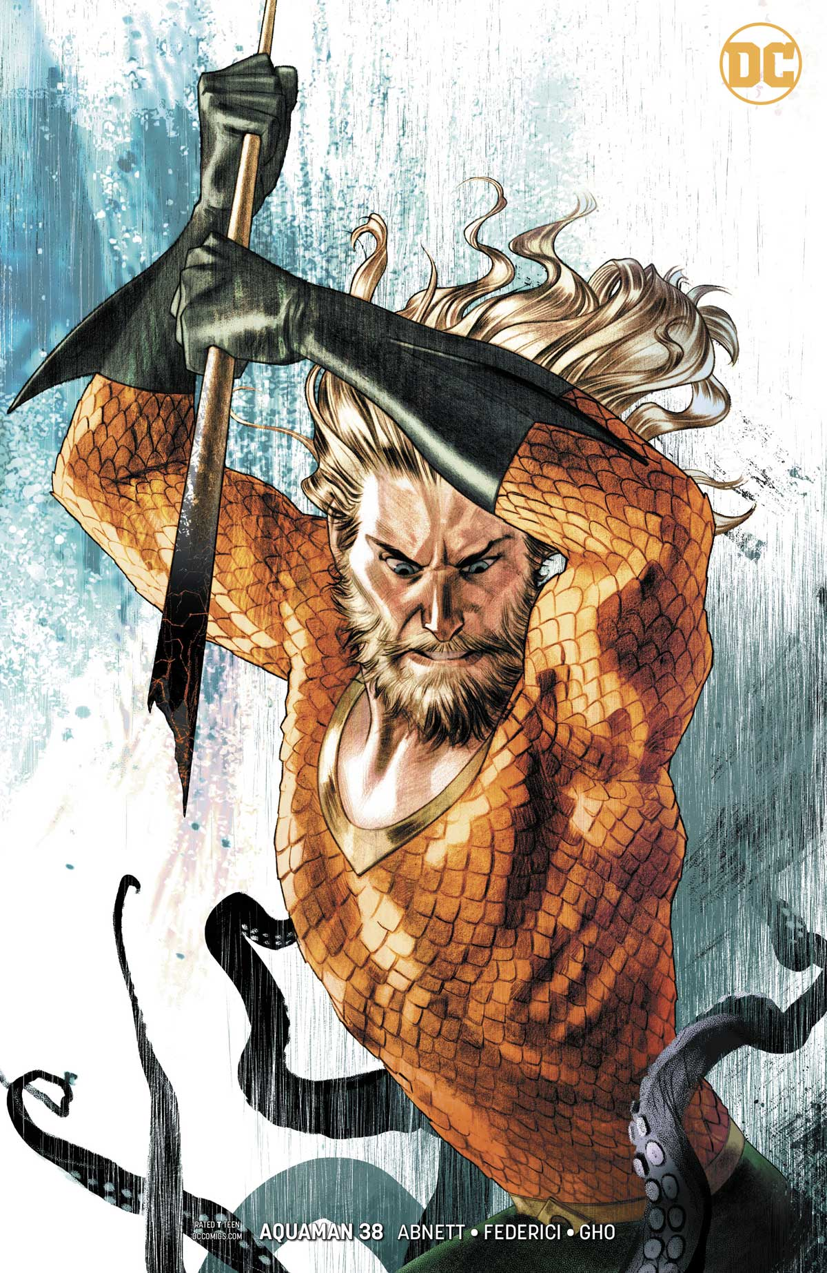Aquaman variant covers by Joshua Middleton