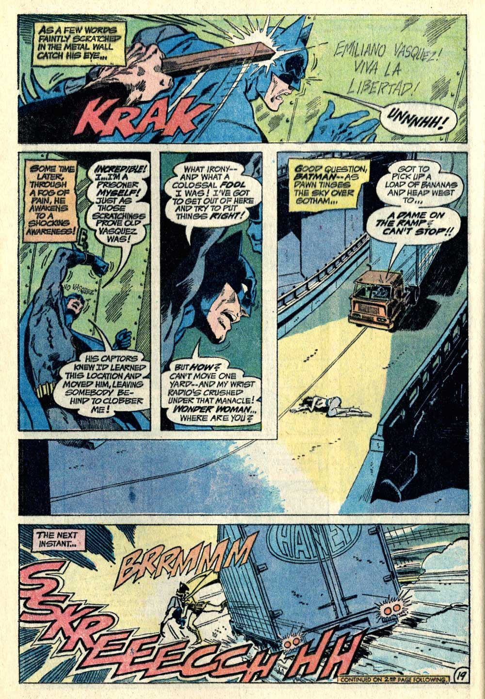 THE BRAVE AND THE BOLD #105 written by Bob Haney with art by Jim Aparo