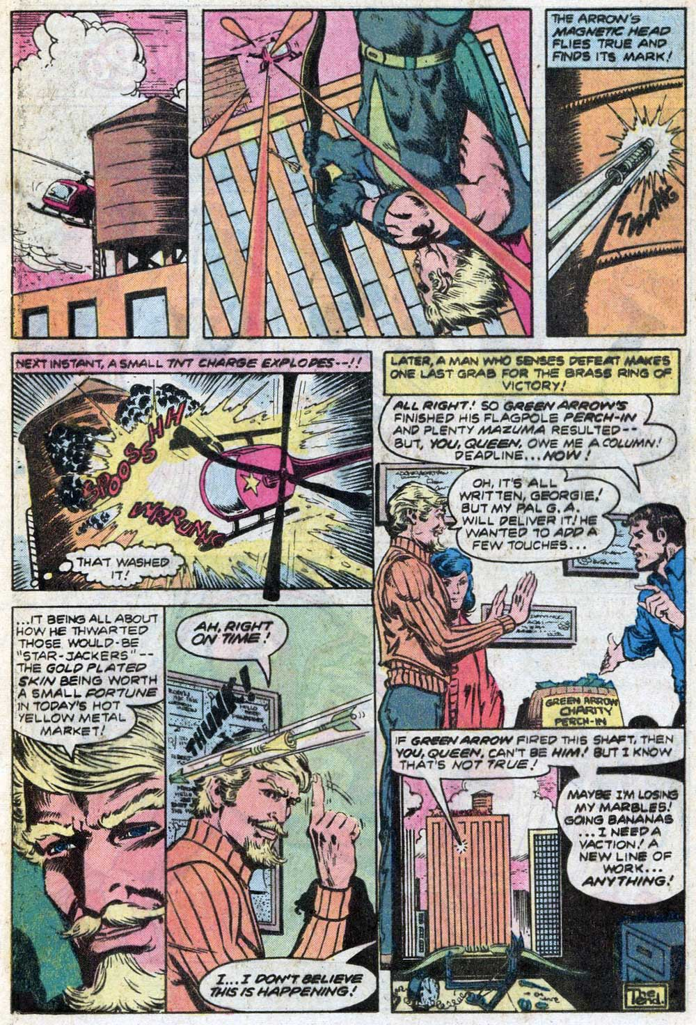 "WORLD'S FINEST #266 - ""I Shot an Arrow into the Air"" written by Bob Haney, and art by Trevor Von Eeden and Rodin Rodriguez"