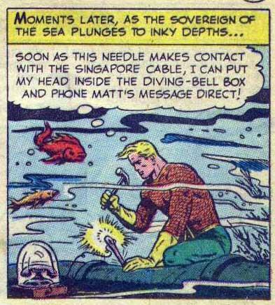 "Adventure Comics #168 - ""Aquaman: One Man Crew"" by George Kashdan and Ramona Fradon"