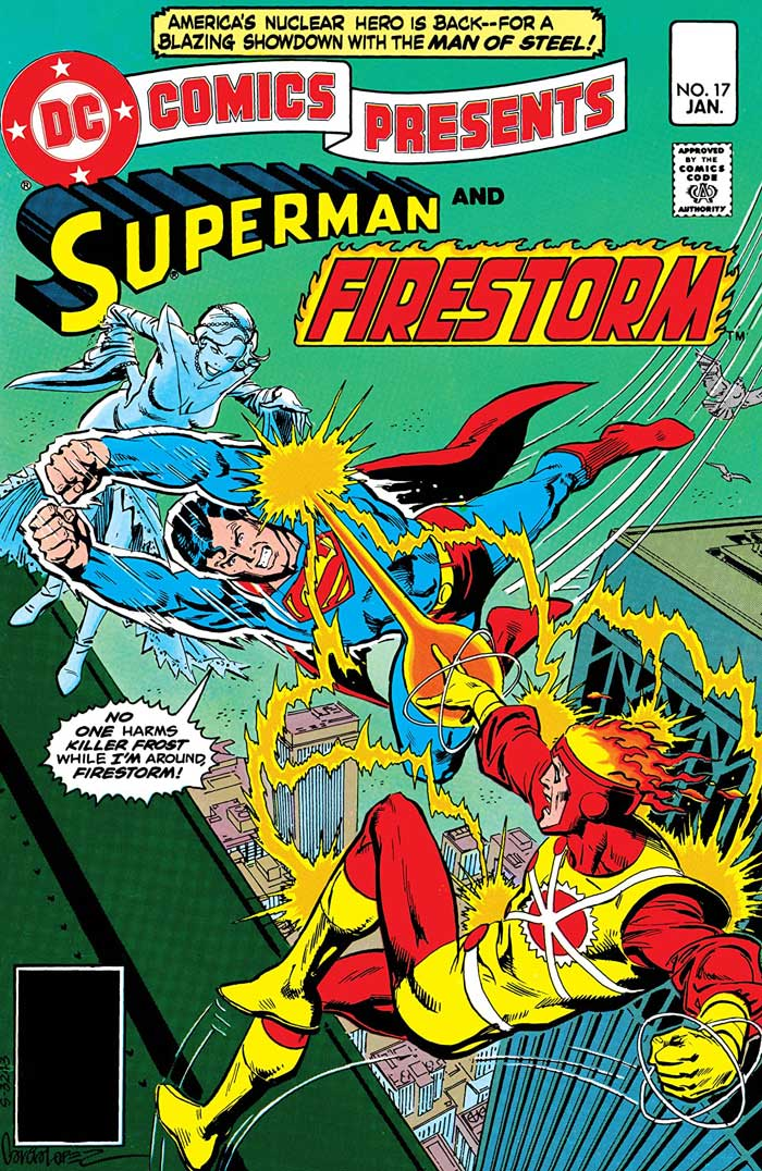 DC Comics Presents #17 (cover dated Jan 1980) by Gerry Conway, Jose Luis Garcia-Lopez (Praise Be His Name), and Steve Mitchell