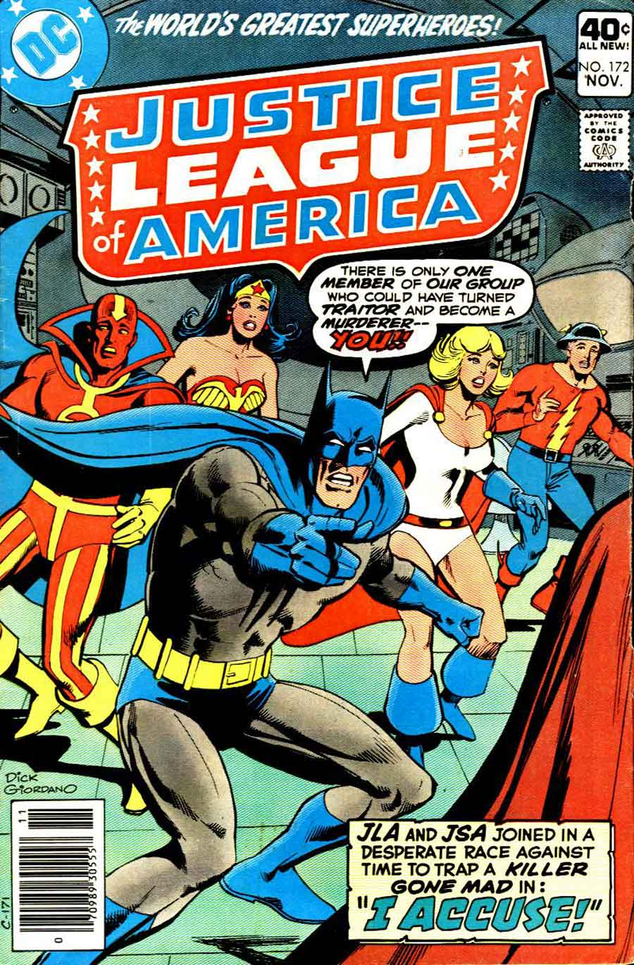 JUSTICE LEAGUE OF AMERICA #172 cover by Dick Giordano