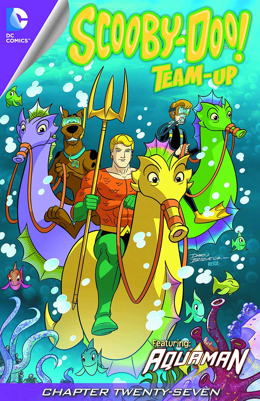 SCOOBY-DOO TEAM-UP #27-28 digitally -- #14 hardcopy