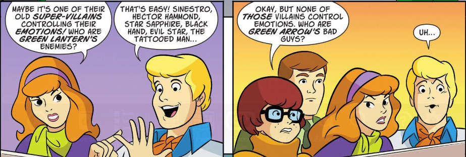 SCOOBY-DOO TEAM-UP #49-50 digitally -- #25 hardcopy