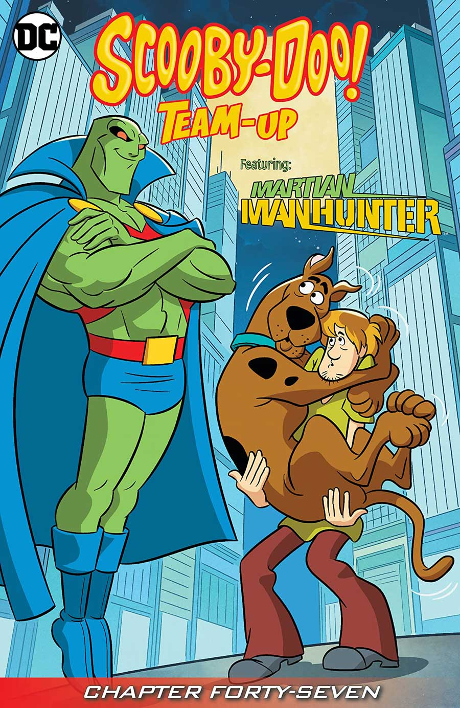 SCOOBY-DOO TEAM-UP #47-48 digitally -- #24 hardcopy