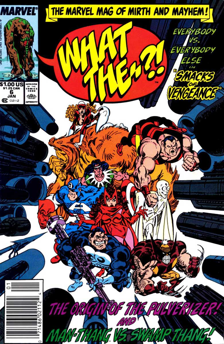 What The--?! #6 cover by John Byrne