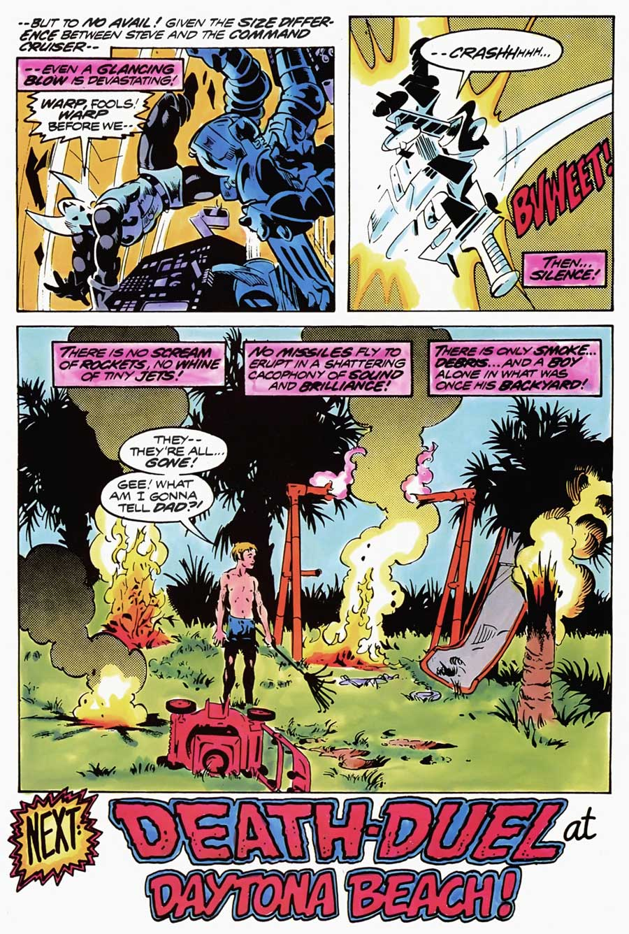 Micronauts #2 by Bill Mantlo and Michael Golden