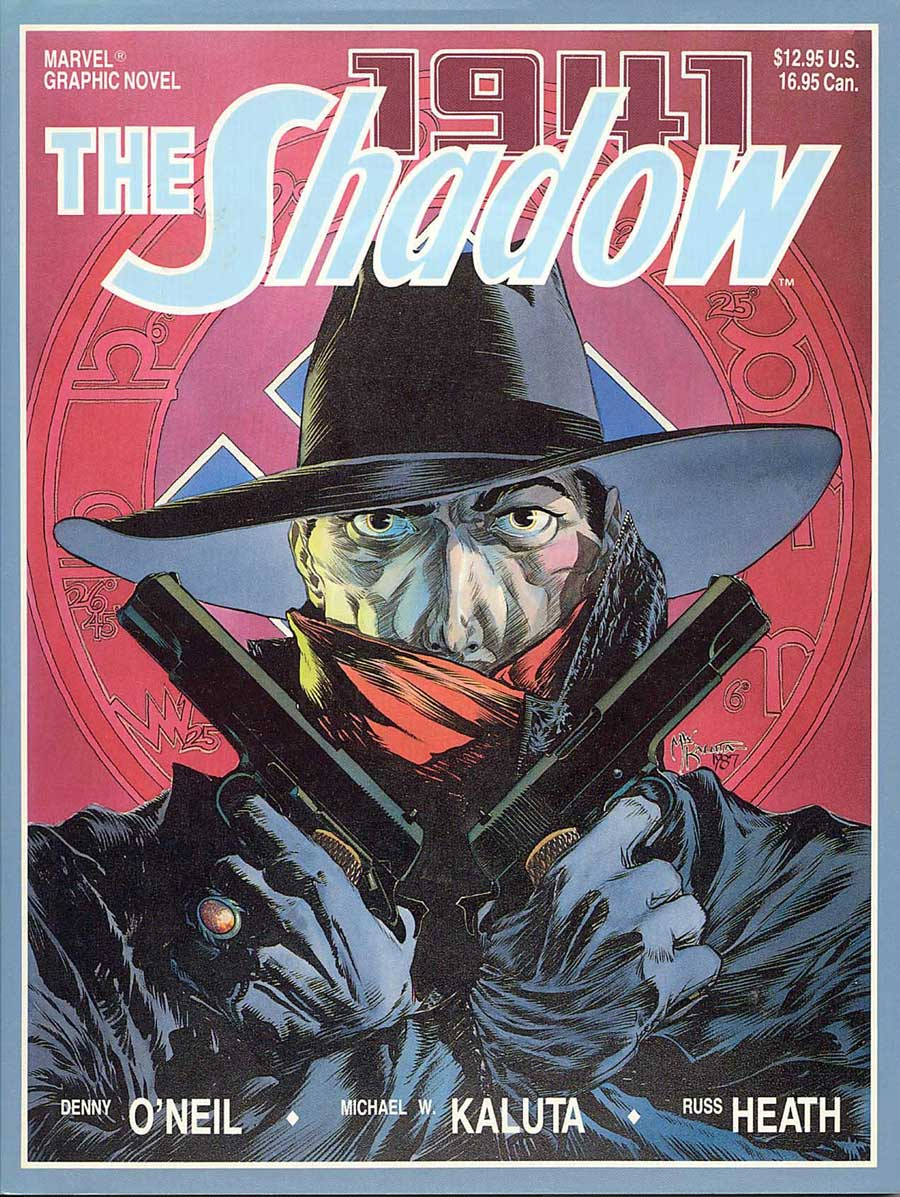 THE SHADOW 1941 by Denny O'Neil and Michael Kaluta