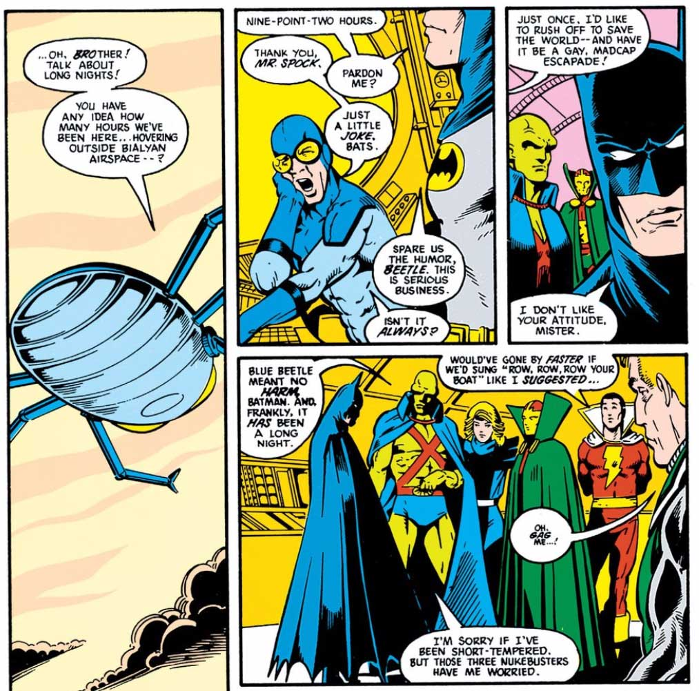 Justice League #3 by Keith Giffen, J.M. DeMatteis, Kevin Maguire and Al Gordon