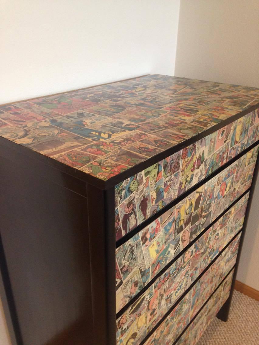 Matthew and Heather Cody new JLI chest of drawers