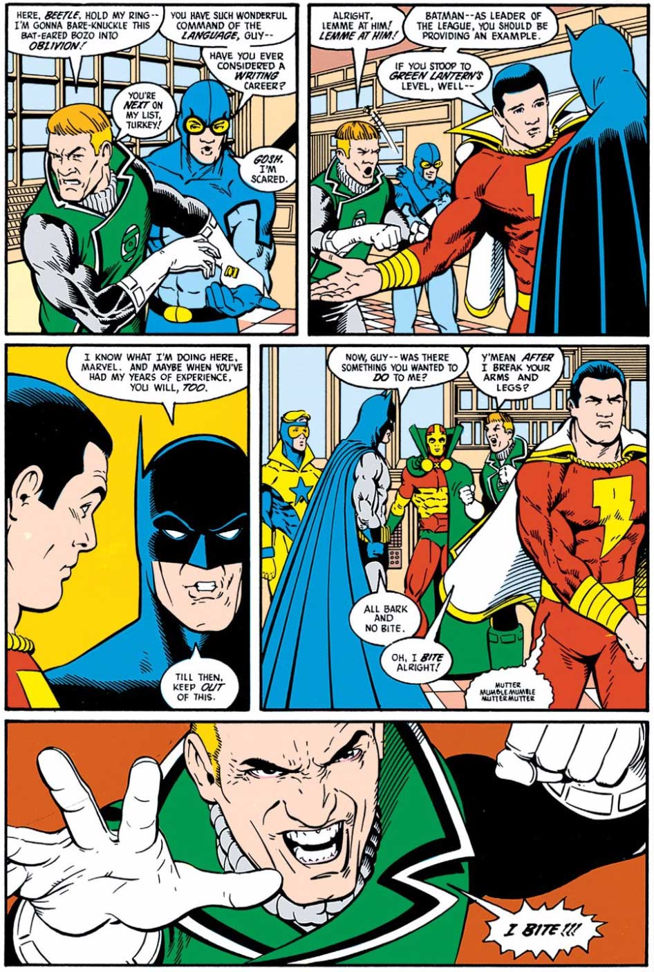 Justice League #5 One Punch by Keith Giffen, J.M. DeMatteis, Kevin Maguire and Al Gordon