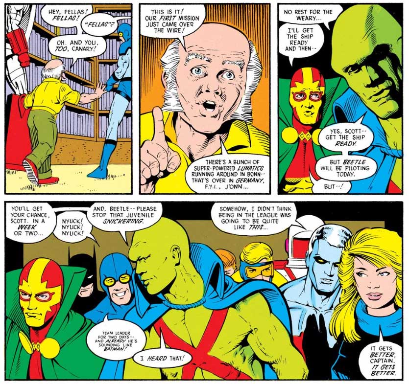 Justice League International #8 by Keith Giffen, J.M. DeMatteis and Kevin Maguire