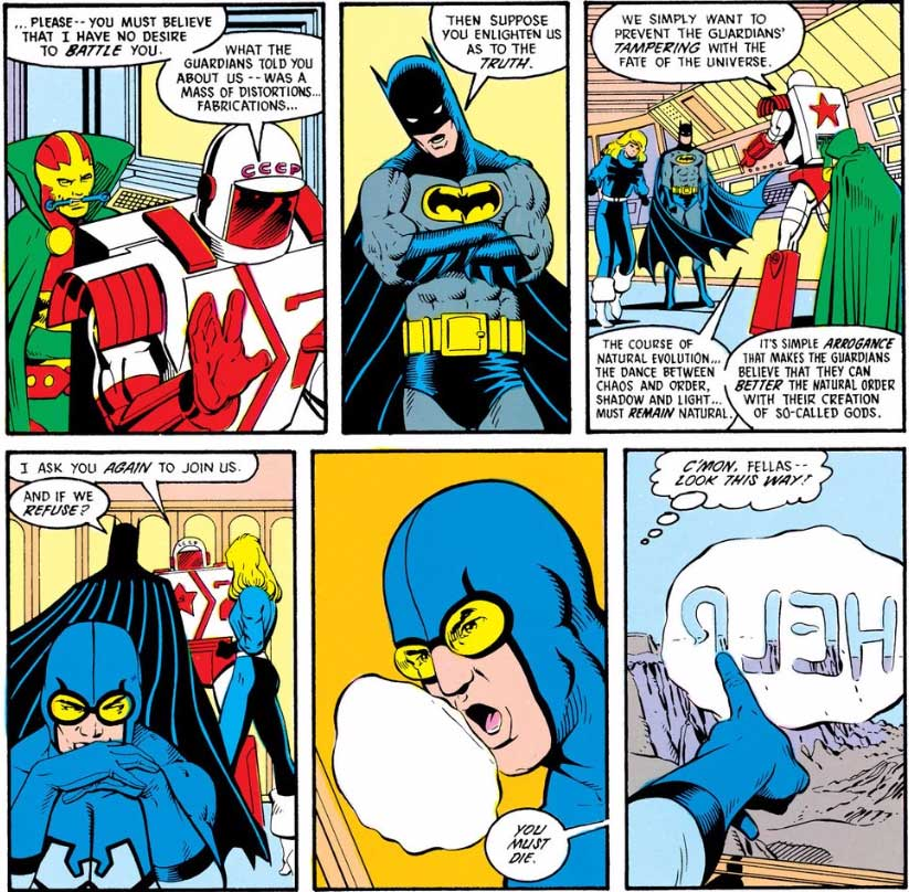 Justice League International #9 by Keith Giffen, J.M. DeMatteis and Kevin Maguire