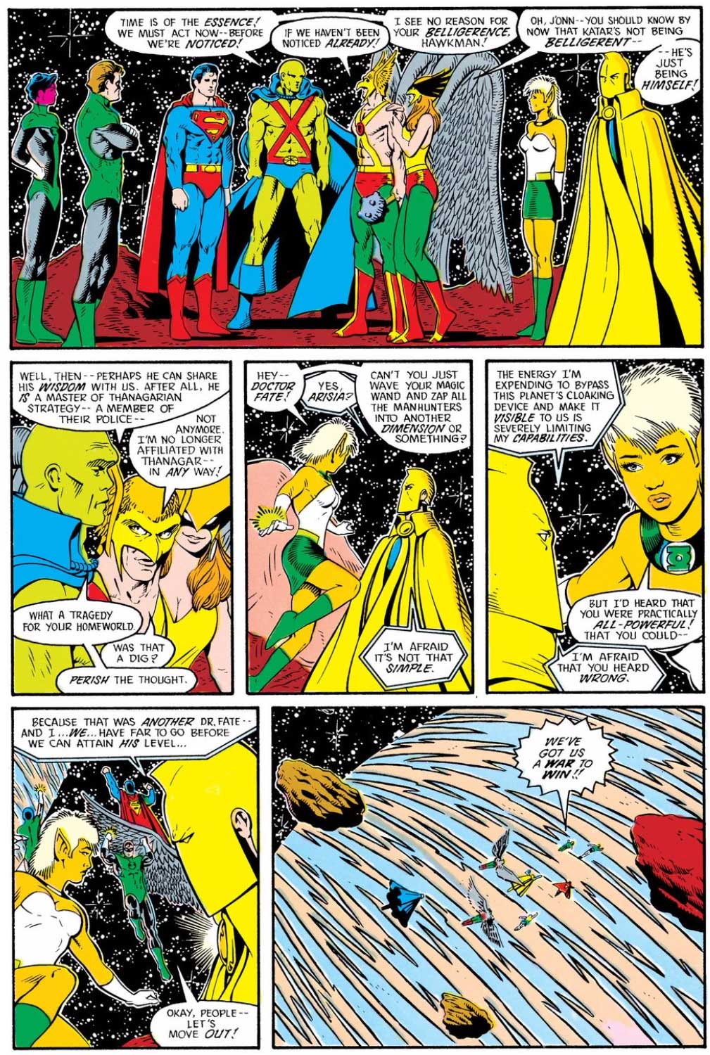 Justice League International #10 by Keith Giffen, J.M. DeMatteis, and Kevin Maguire