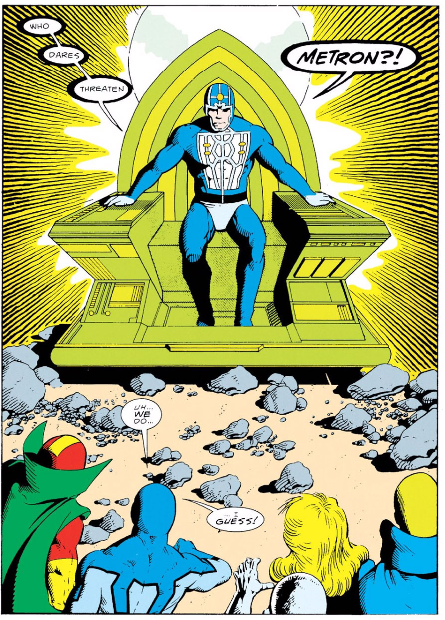 Justice League International #11 by Keith Giffen, JM DeMatteis, Kevin Maguire, and Al Gordon