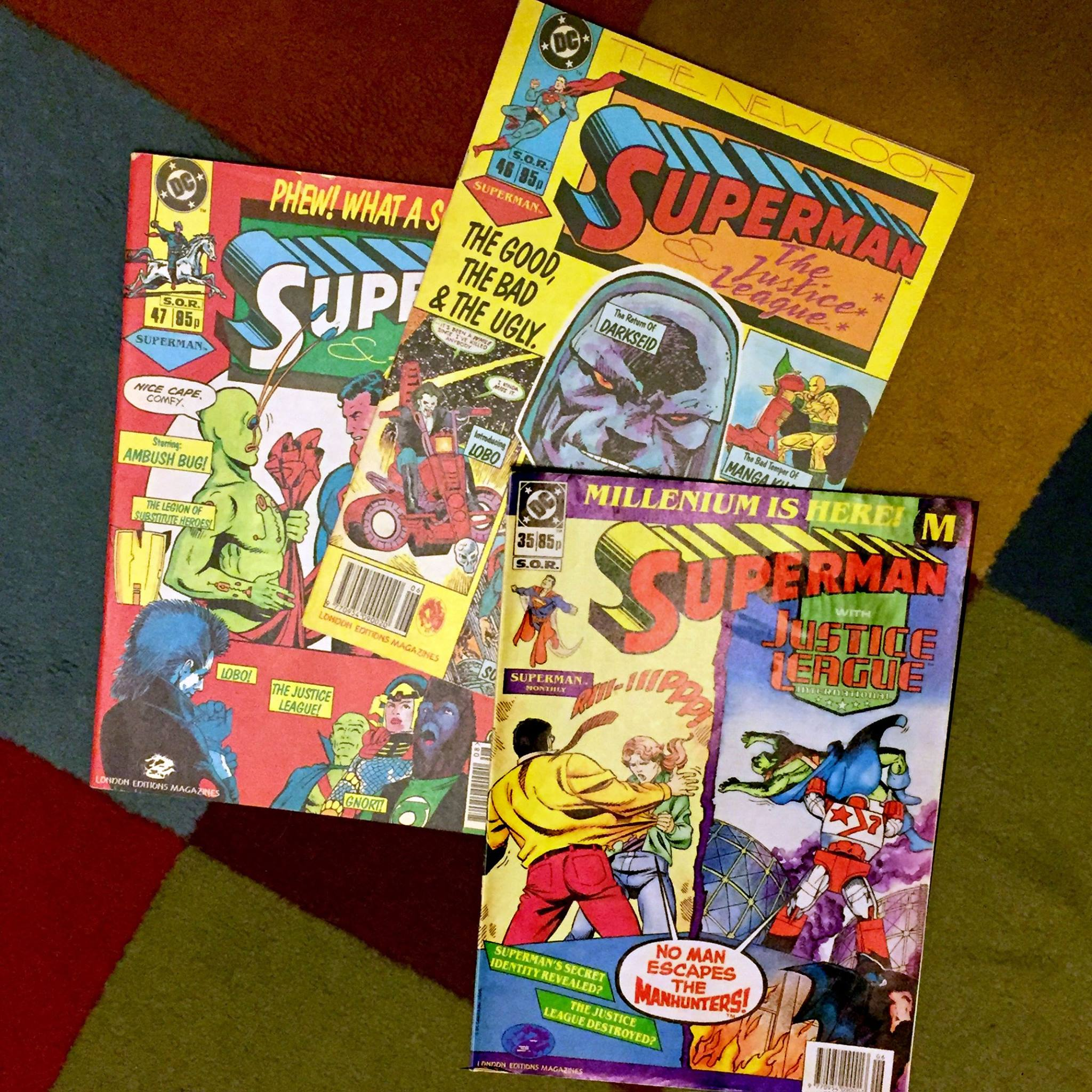 UK Reprints - Superman Monthly