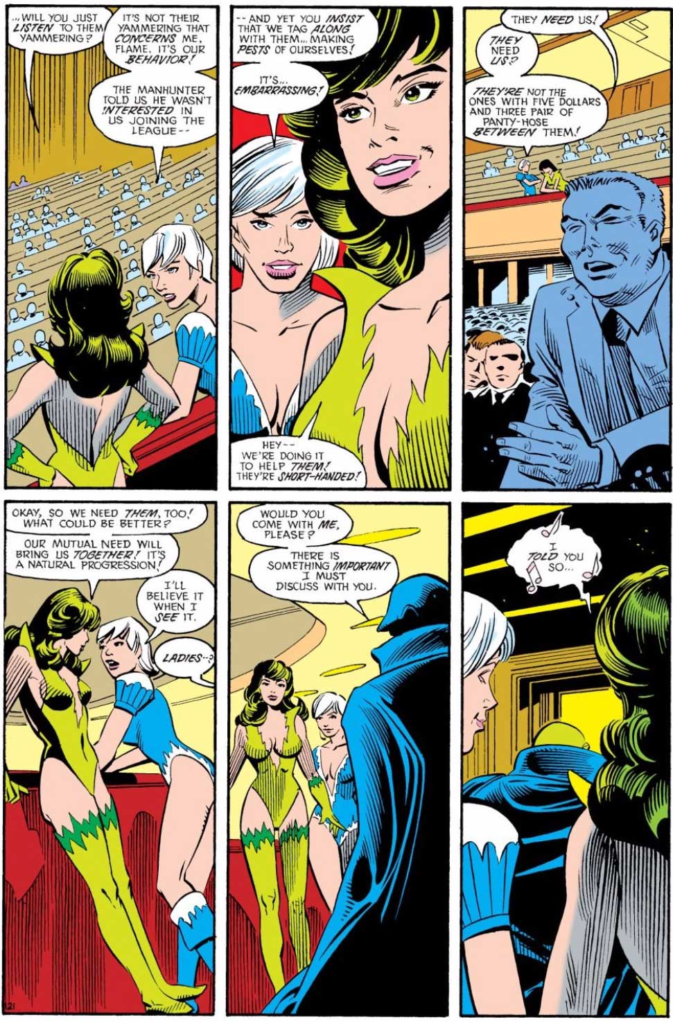 Justice League International #14 by J.M. DeMatteis, Keith Giffen, Steve Leialoha and Al Gordon
