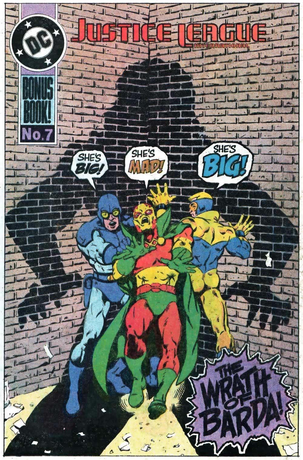 Justice League International #18 Bonus Book - Raising the Roof