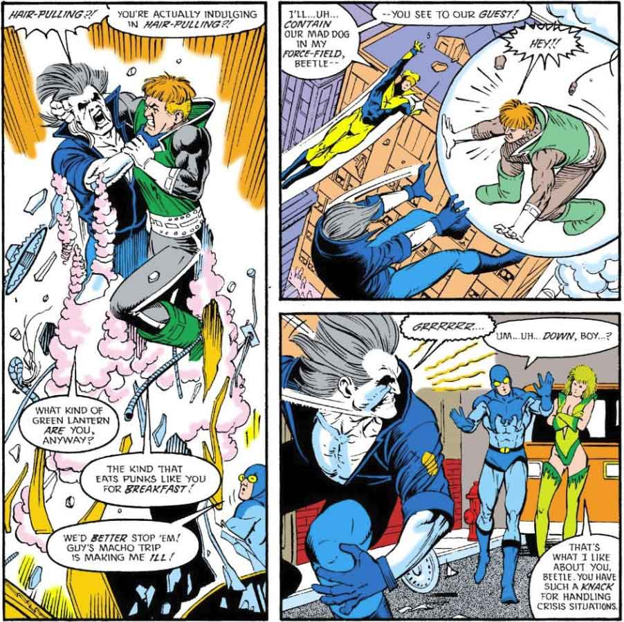 Justice League International #19 by Keith Giffen, JM DeMatteis, Kevin Maguire, and Joe Rubinstein