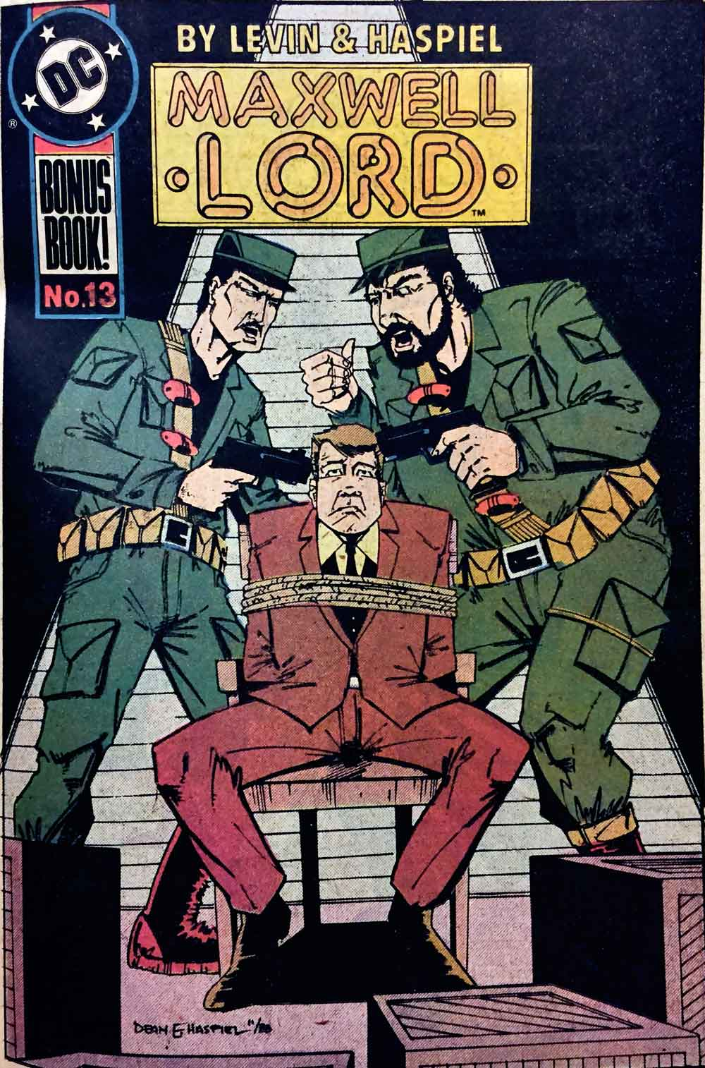 Justice League International #24 David Levin and Dean Haspiel