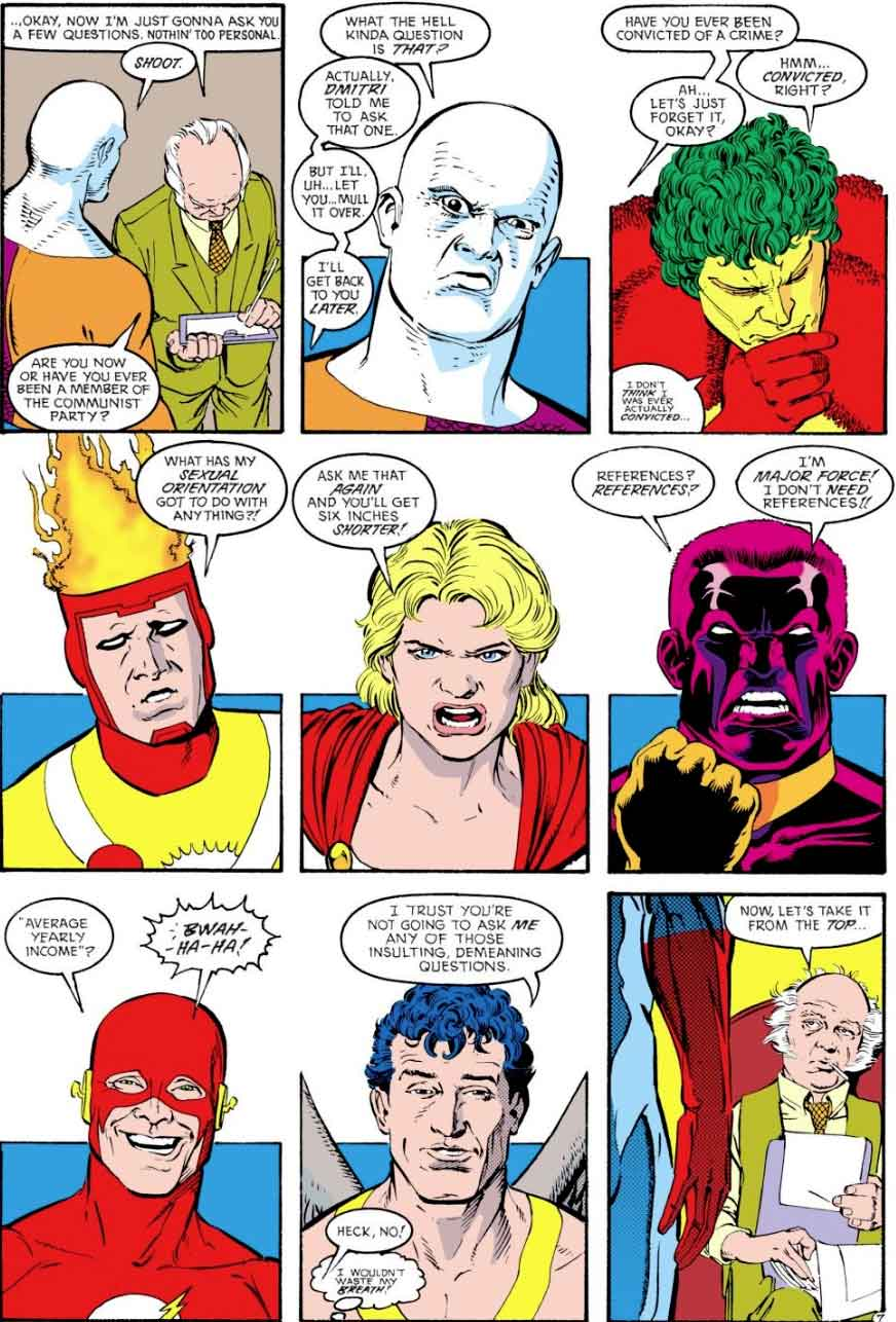 Justice League International #24 Keith Giffen, JM DeMatteis, Kevin Maguire and Joe Rubinstein