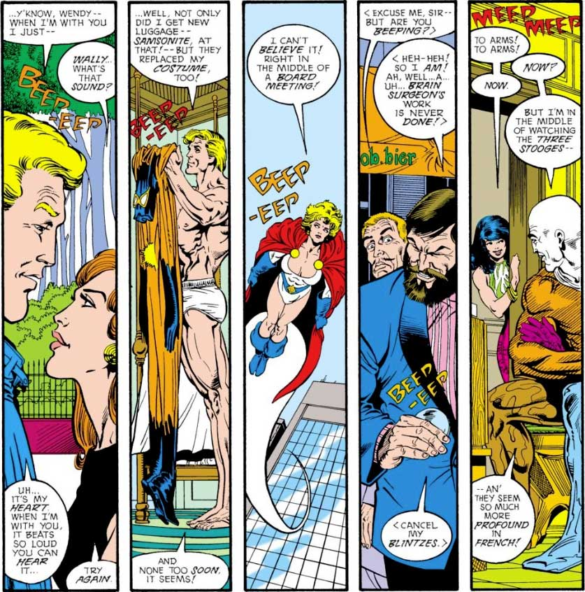 Justice League Europe #2 Keith Giffen, JM DeMatteis, Bart Sears and Pablo Marcos