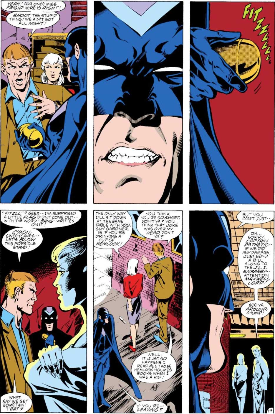 Justice League America #28 by Keith Giffen, J.M. DeMatteis, Ty Templeton, Mike McKone and Joe Rubinstein