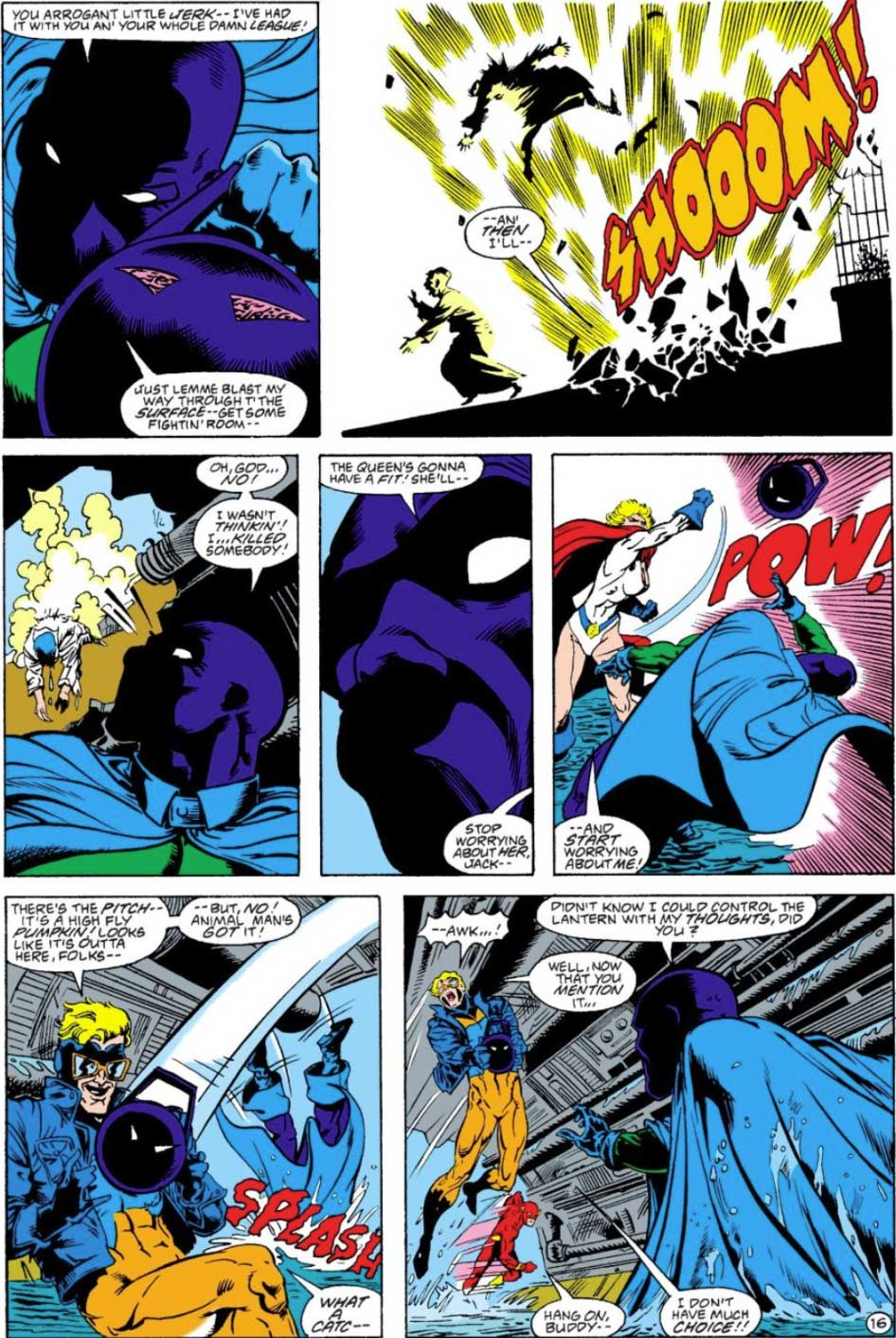 Justice League Europe #4 by Keith Giffen, J.M. DeMatteis, Bart Sears and Pablo Marcos