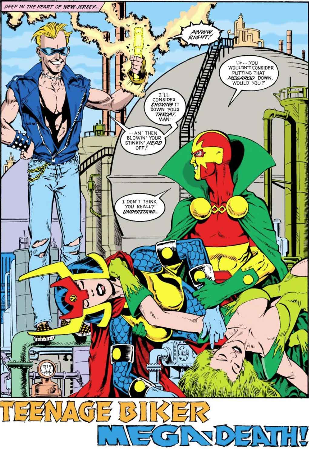 Justice League America #30 by Keith Giffen, J.M. DeMatteis, Bill Willingham, and Joe Rubinstein