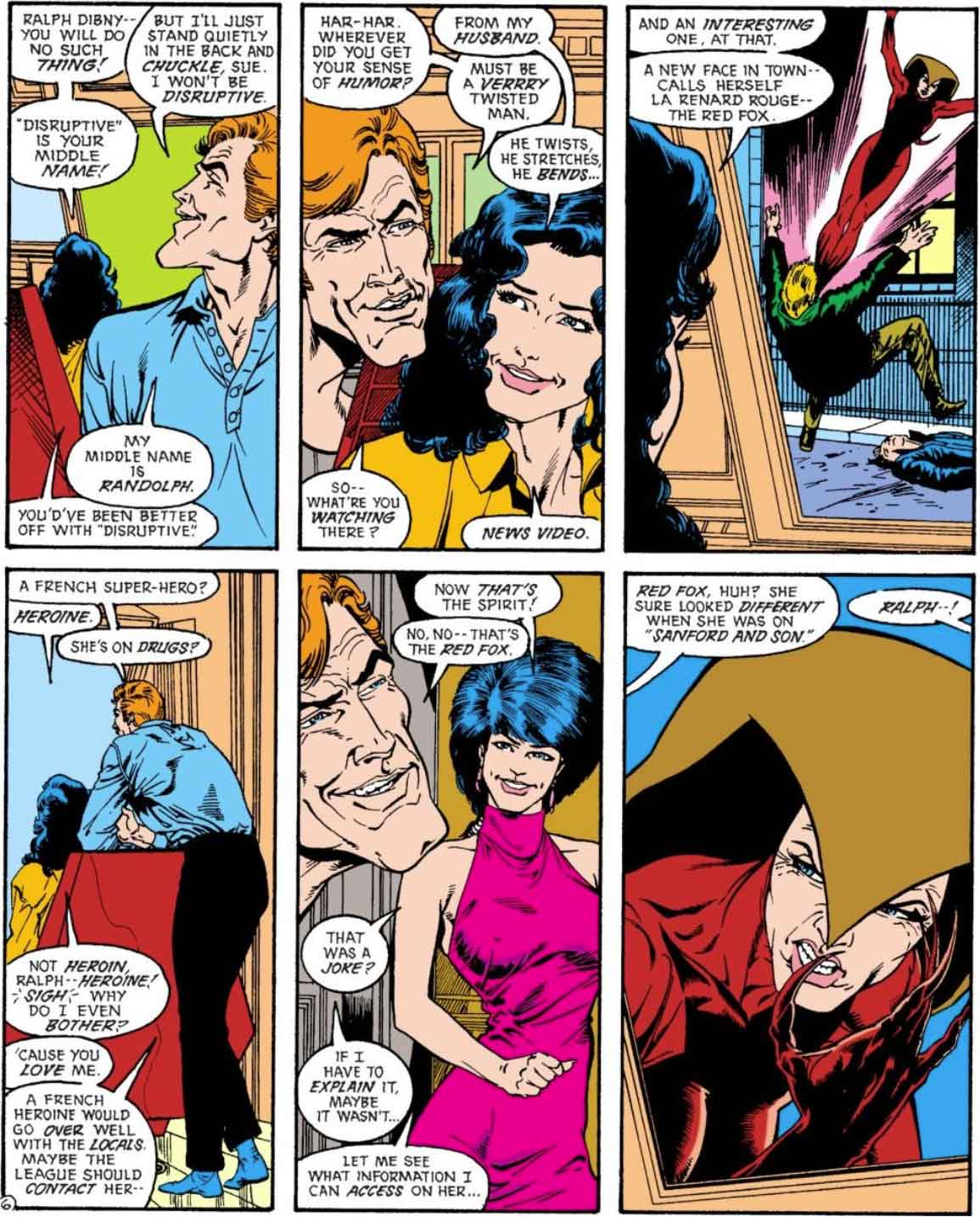 Justice League Europe #6 by Keith Giffen, J.M. DeMatteis, Bart Sears and Pablo Marcos