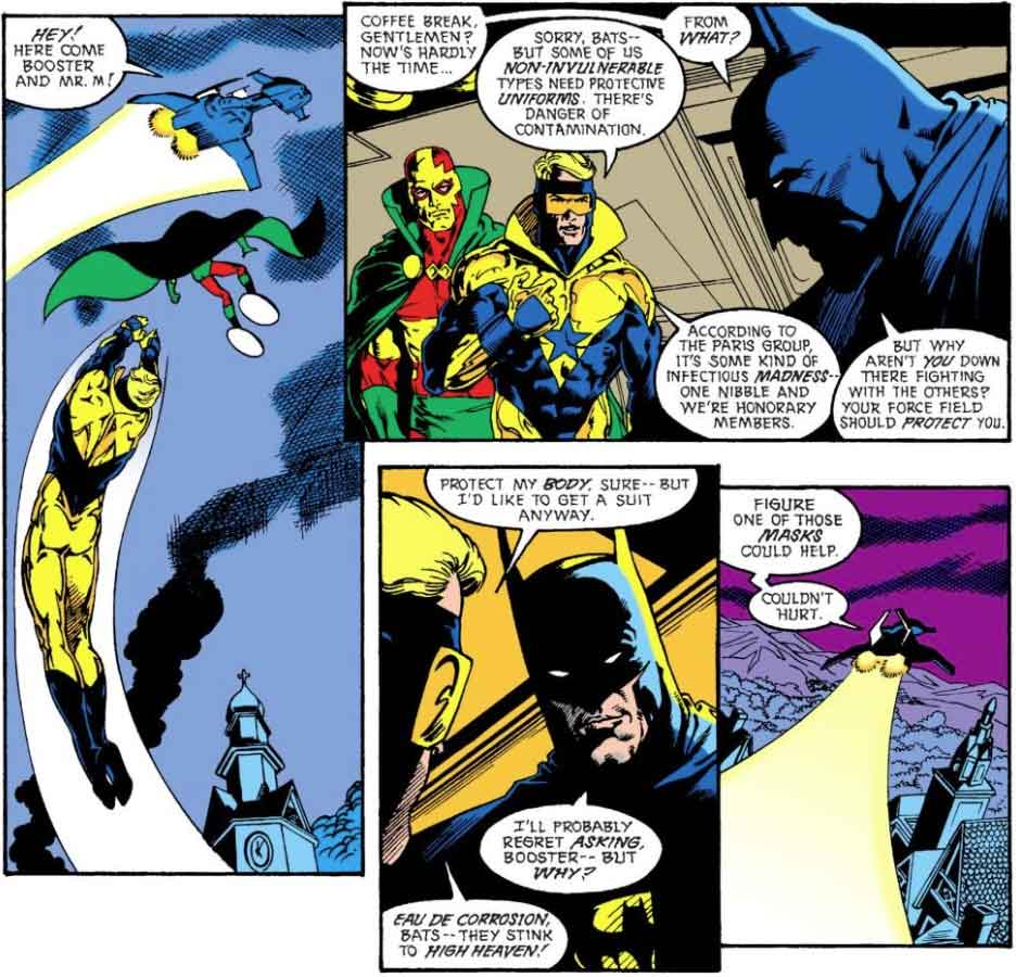 Justice League Europe #7 by Keith Giffen, J.M. DeMatteis, Bart Sears and Pablo Marcos