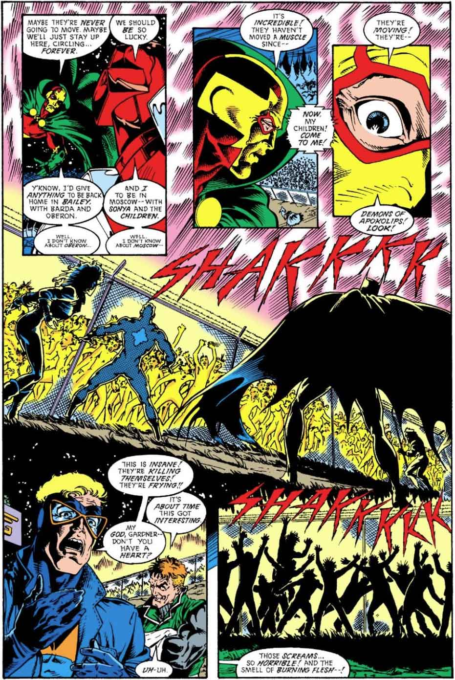 Justice League Europe #8 by Keith Giffen, J.M. DeMatteis, Bart Sears and Bob Smith