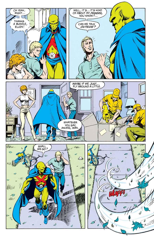 Animal Man #9 by Grant Morrison, Tom Grummet, and Doug Hazlewood