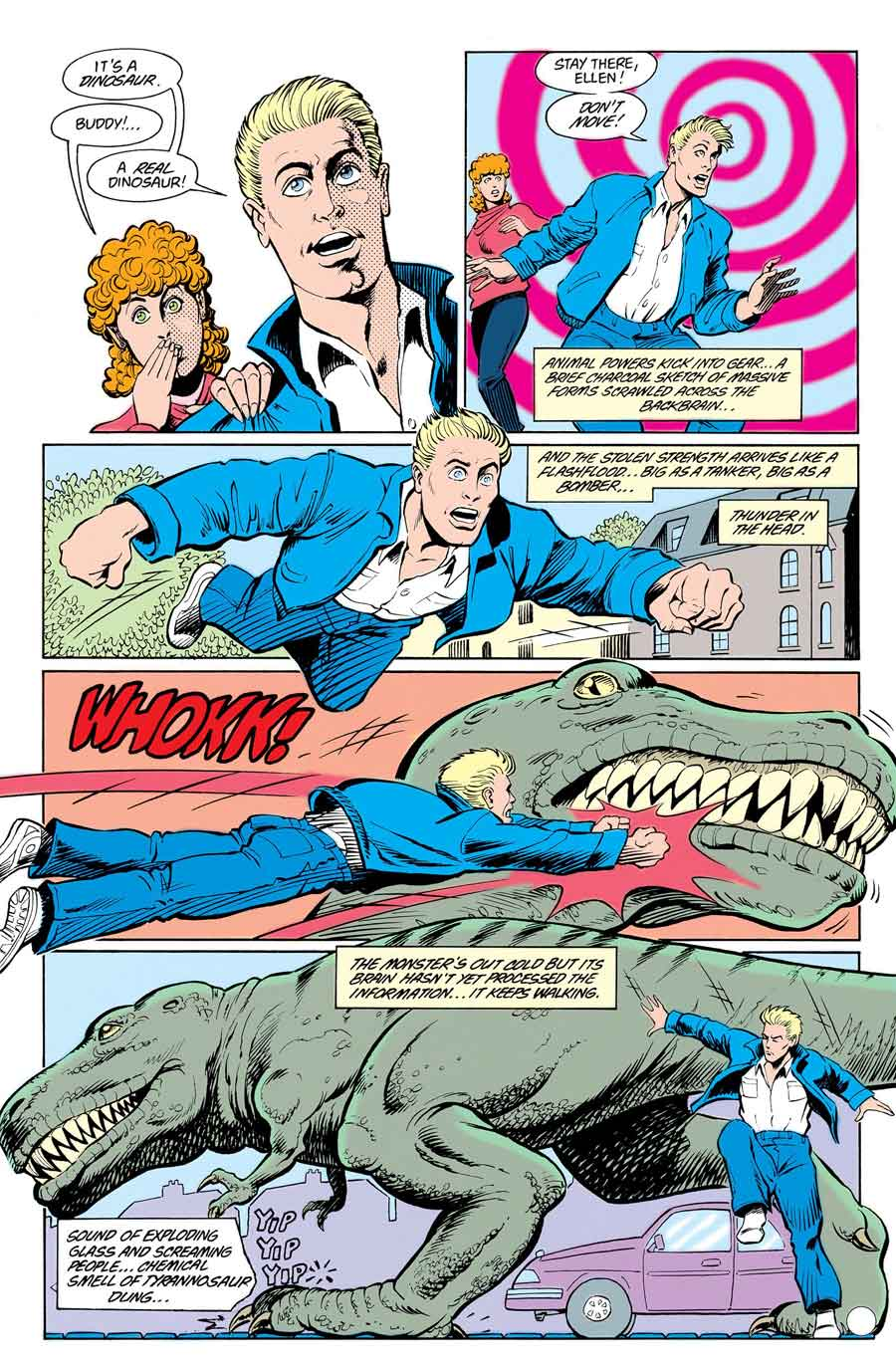 Animal Man #16 by Grant Morrison, Chas Truog and Doug Hazlewood