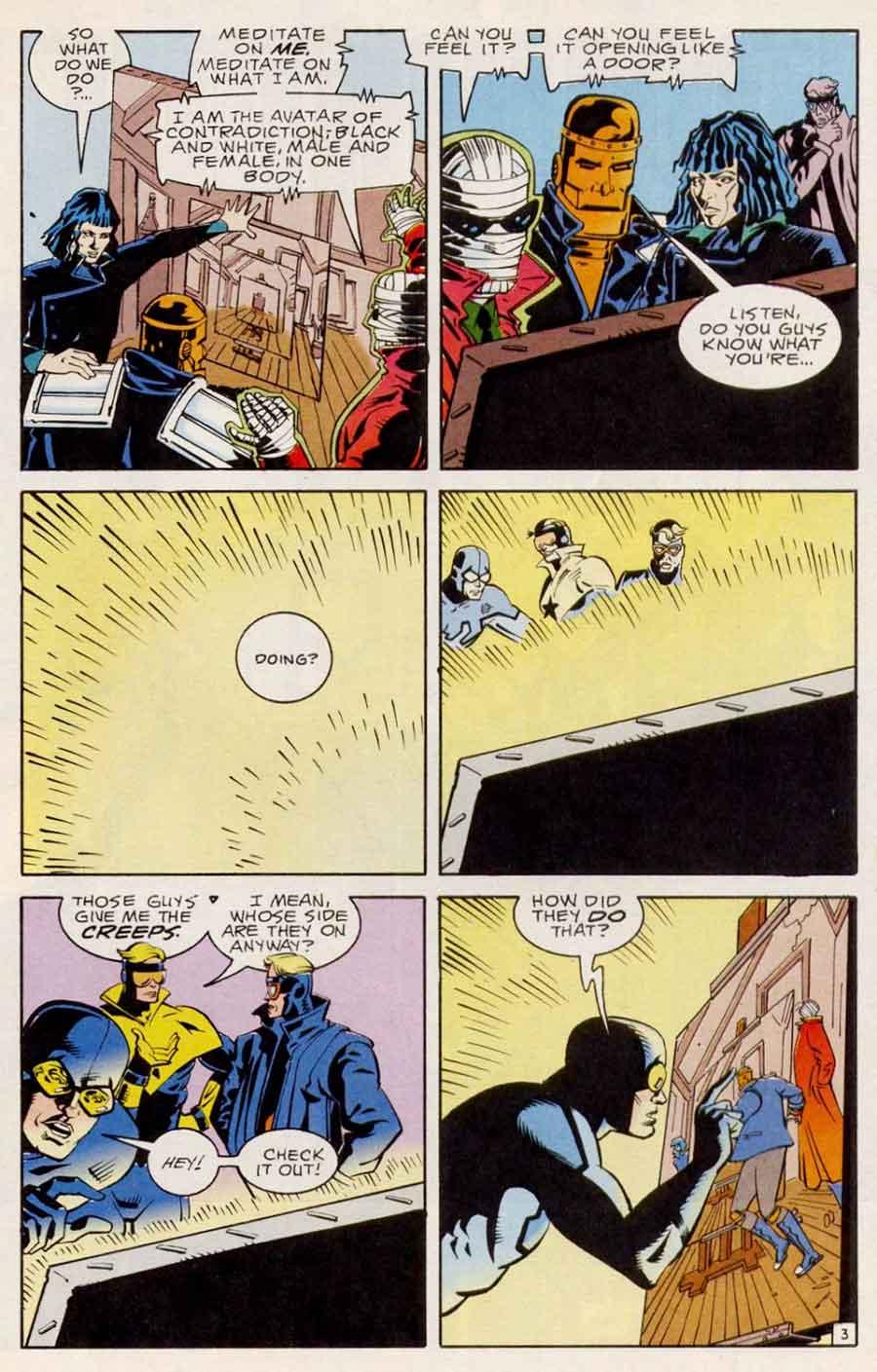 Doom Patrol #28 by Grant Morrison, Richard Case and John Nyberg